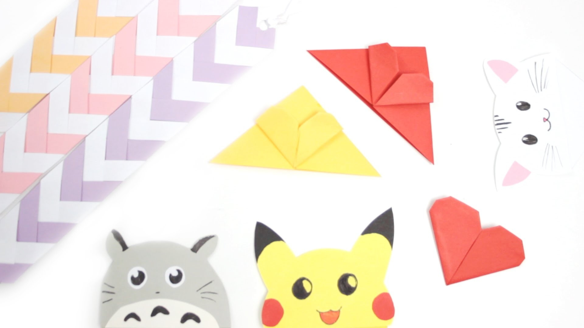Diy: Cute & Easy Bookmark Ideas - Back To School - Youtube intended for Cute Bookmarks To Make 28010