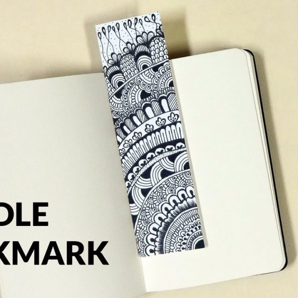 Diy Doodle Bookmark - Youtube within Cool Bookmark Designs To Draw