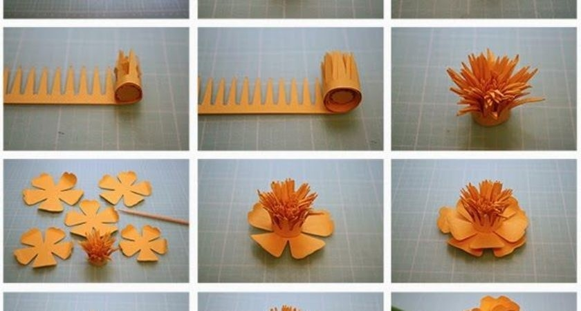 Diy Make Paper Flower Craft Step - Coriver Homes | #87566 with How To Make Paper Craft Flowers Step By Step 28911