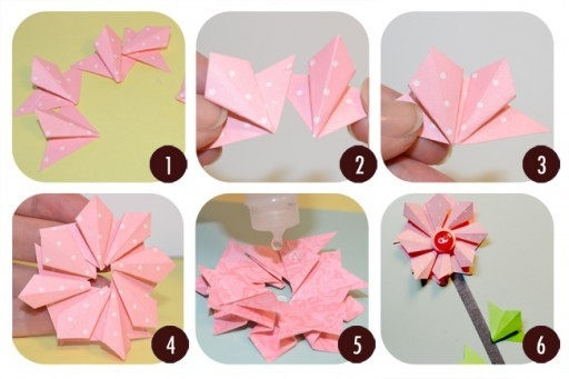 Diy Paper Crafts Step By