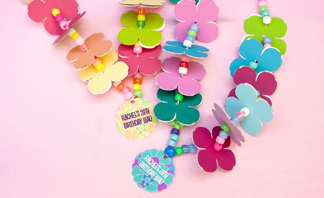Diy Paper Lei - Gift & Favor Ideas From Evermine regarding Paper Craft Ideas For Birthday 28945