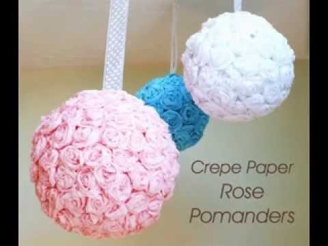 Diy Paper Wedding Decorations Ideas Youtube With Craft For Weddings