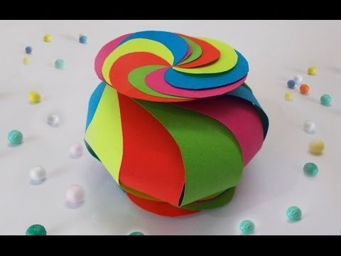 Diy Projects : How To Make Cute Twisted Paper Box | Easy Diy intended for How To Make Cute Paper Crafts 26915