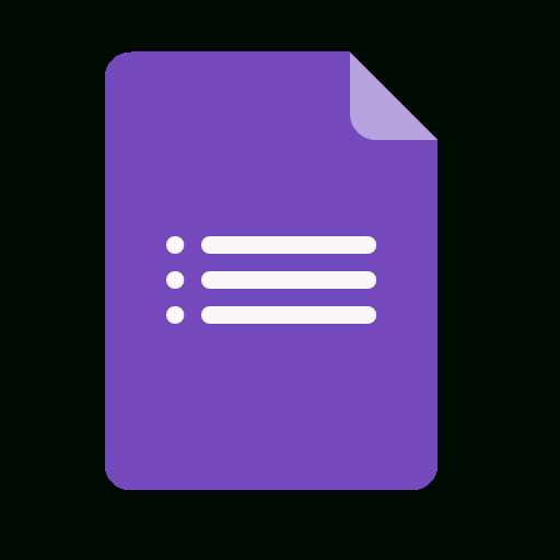 Document, File, Data, Google, Forms Icon for Google Forms Icon 24694