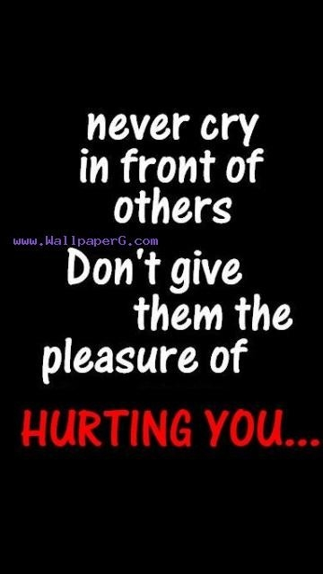 Download Hurting You - Saying Quote Wallpapers For Your Mobile regarding Attitude Quotes Wallpapers For Mobile 30637