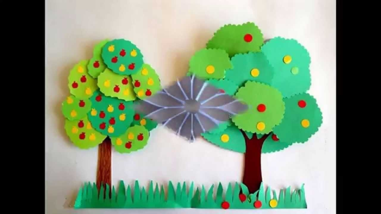Easy And Simple Diy Construction Paper Crafts For Kids - Youtube within Easy Crafts For Kids With Construction Paper 27059