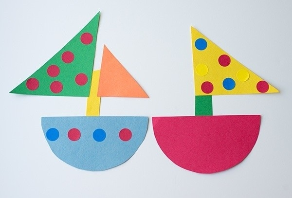 Easy Crafts For Kids With Construction Paper Examples And Forms