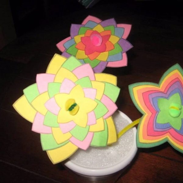 Easy Construction Paper Crafts For Kids Youtube Span New With Regard