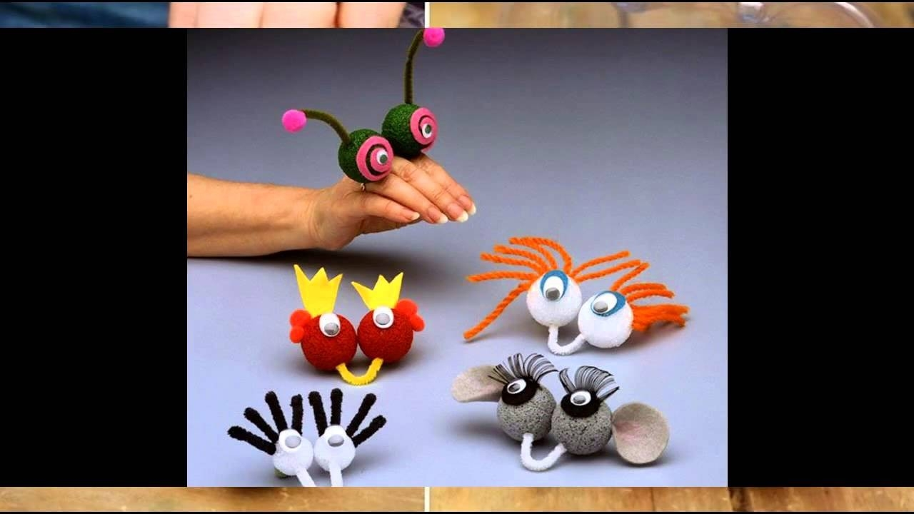 Easy Crafts For Kids To Make At Home Youtube Throughout Easy
