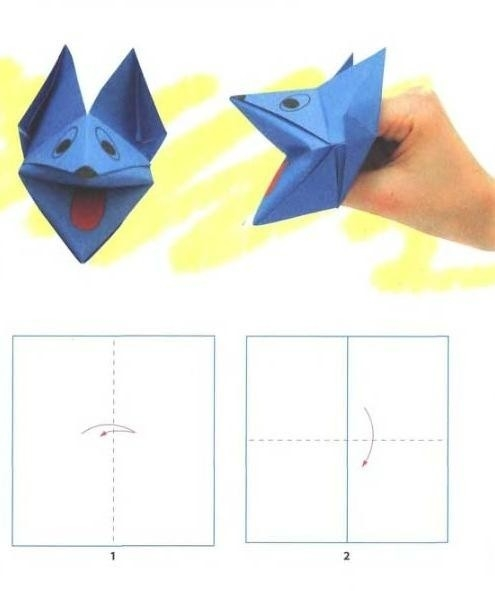 Easy Paper Folding Crafts | Craft Get Ideas within Simple Paper Folding Art For Kids 28990