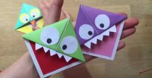 How To Make Corner Bookmarks With Paper