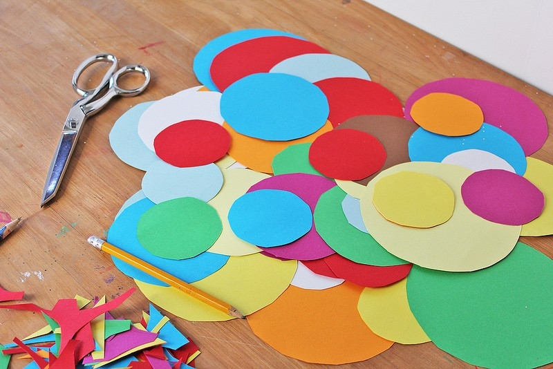 Easy Planet Craft For Kids: 3D Paper Planets throughout Construction Paper Art For Kids 29000