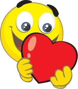 Face Clipart Heart – Pencil And In Color Face Clipart Heart inside Heart Smiley Faces Clip Art 30699