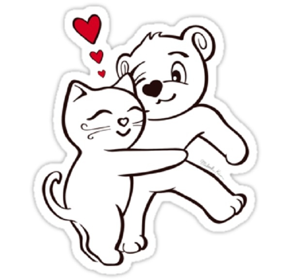 Facebook Stickers Hug: Facebook Stickers Hug | Funny Sticker with Hug Stickers For Facebook 26744