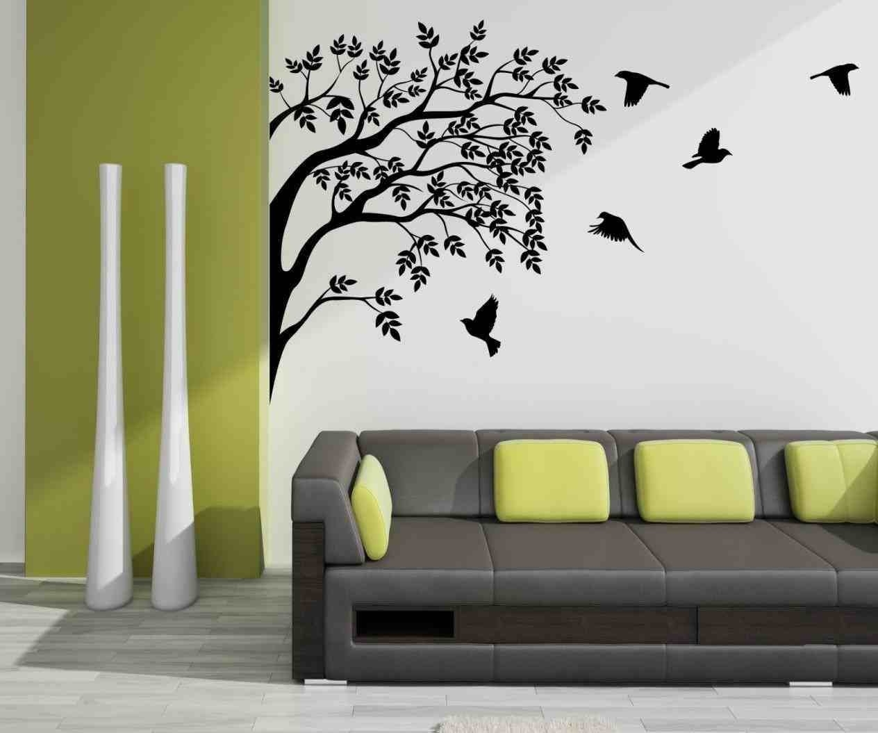 Fascinating Creative Wall Painting Ideas For Living Room U within Creative Wall Painting Ideas For Living Room 30073