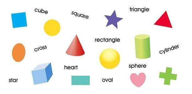 Flash Cards- Kids Games- Shapes within Shapes Names For Kids 25683