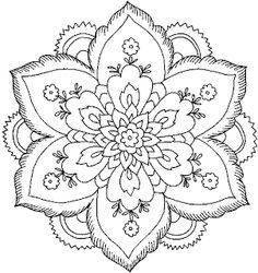 Flower Coloring Pages On Pinterest | Coloring | Pinterest | Flower with regard to Detailed Flower Pattern Coloring Pages 27079