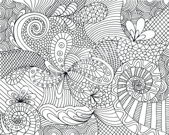 Flower Pattern Coloring Pages Printable Kids Coloring Click Here pertaining to Detailed Pattern Coloring Pages 29461