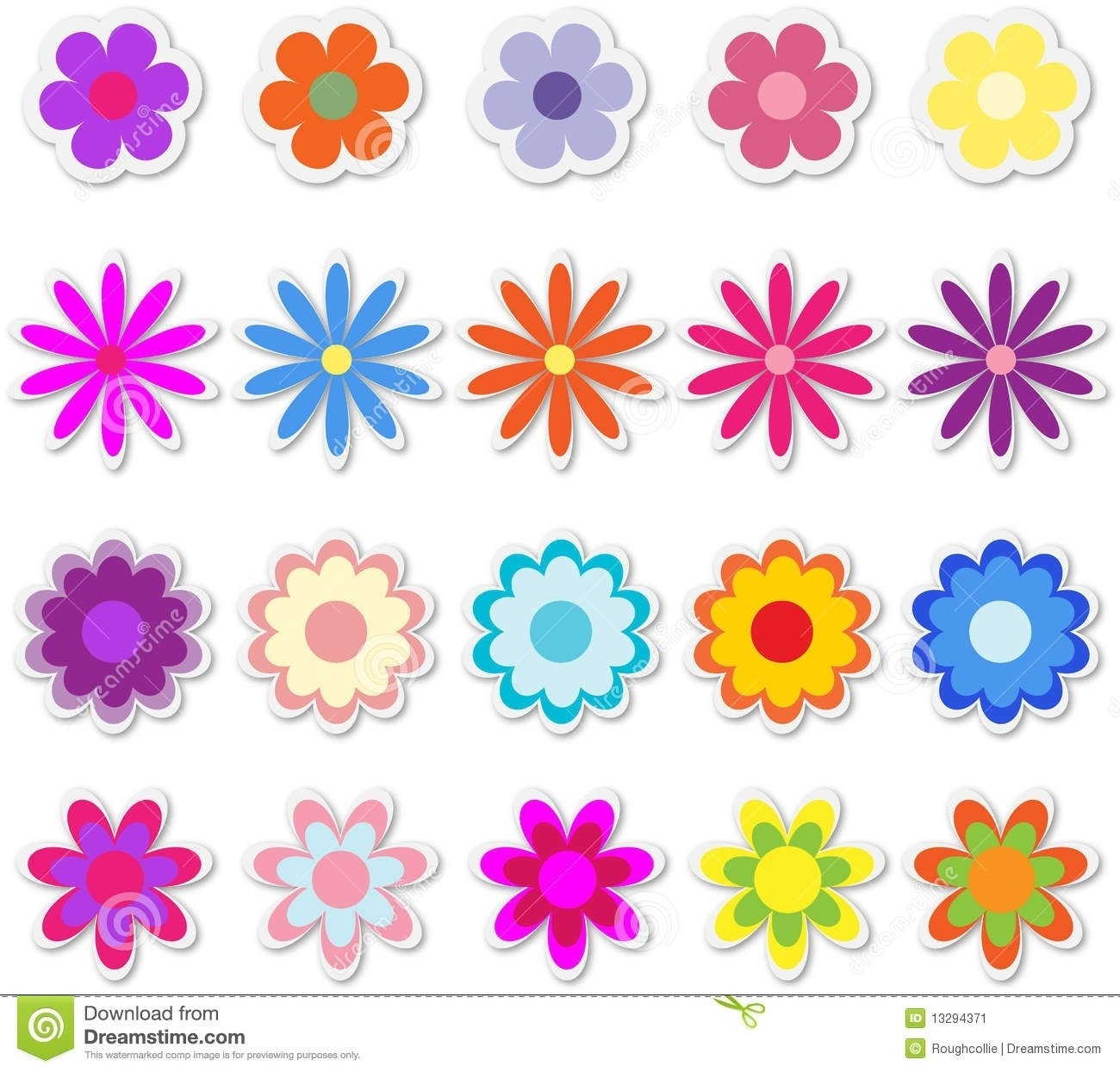 Flower Stickers For Cards | World Of Example inside Flower Stickers For Cards 26725