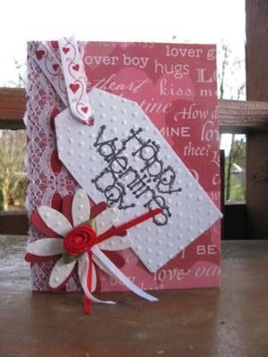 For My Love A Handmade Valentines Card with regard to Handmade Love Cards For Husband 30198