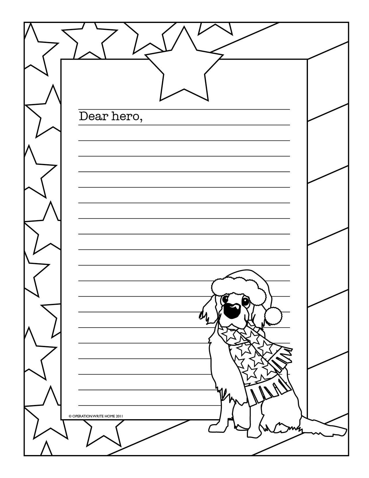 For Our Military On Christmas. | For Our Military | Pinterest in Printable Christmas List Coloring 25966
