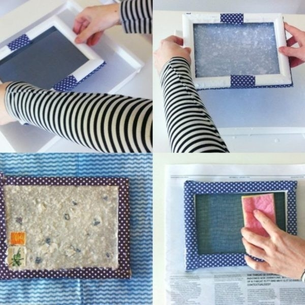 Frame How To Make: Handmade Paper | My Poppet Makes With How To In pertaining to How To Make Handmade Photo Frames With Handmade Paper Step By Step 27693