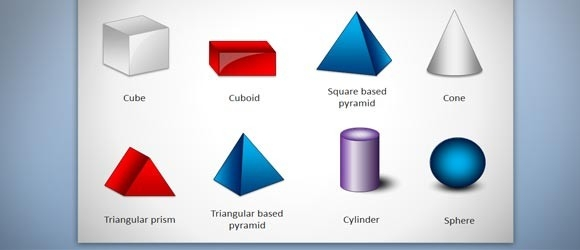 Free 3D Geometric Shapes Template For Powerpoint Presentations throughout Geometry Shapes 3D 25020