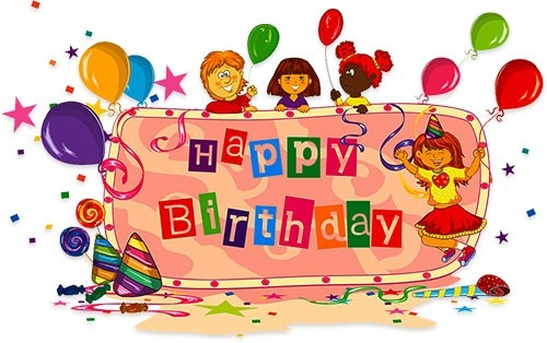 Free Birthday Clipart - Animations regarding Birthday Smiley Faces Clip Art 28375