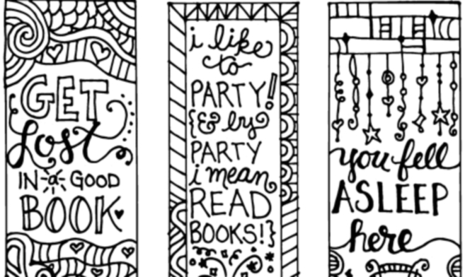 Free Bookmarks For Summer Reading - Bestdeals4Moms inside Bookmark Designs To Print Black And White 25873