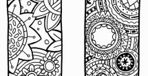 Bookmark Designs To Print Black And White