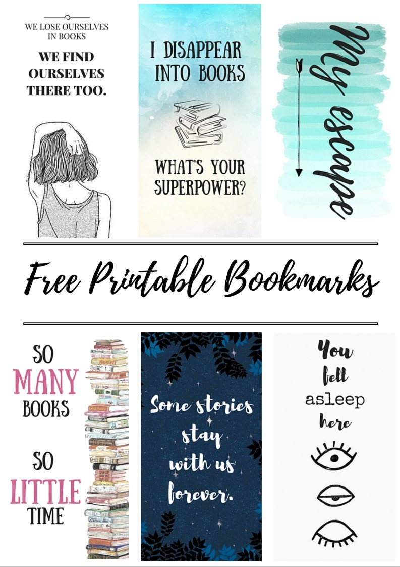 Free Printable Bookmarks | Bookmarks, Free Printable Bookmarks And intended for Cool Bookmarks That You Can Print 26442