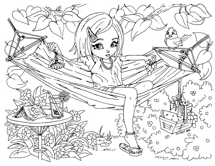 Free Printable Coloring Pages For Teenage Girls – Color Bros within Detailed Coloring Pages For Teenage Girls 28149