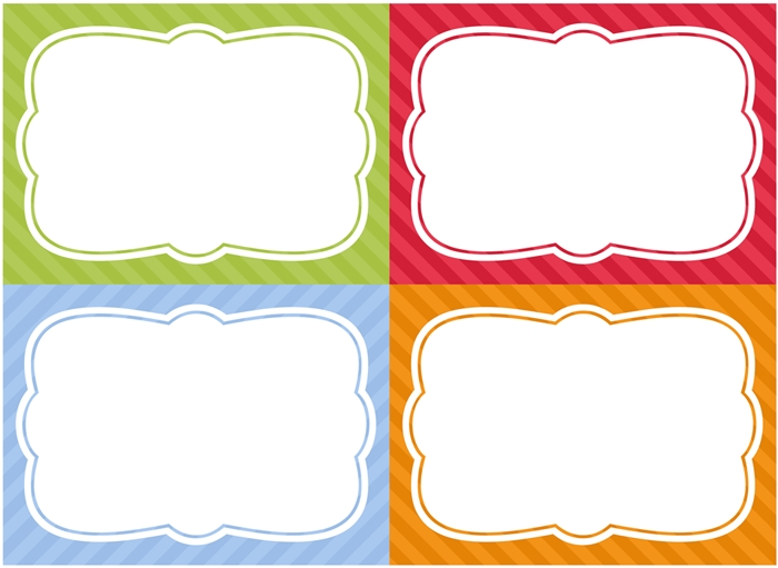 Free Printable Home Organization Labels   Pantry Storage intended for Label Templates Free Download 26553
