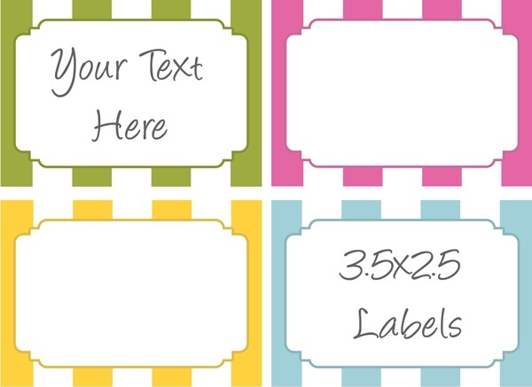 Free Printable Labels For Bake Sale Goodies | Bake Sale Flyers intended for Label Templates Free For Word 27010