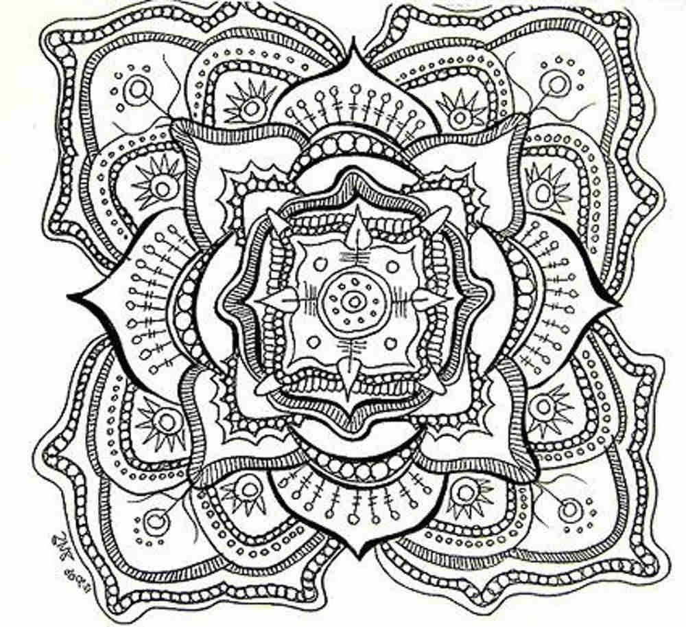 Free Printable Mandala Coloring Pages For Adults - Depetta intended for Detailed Mandala Coloring Pages For Adults 29491
