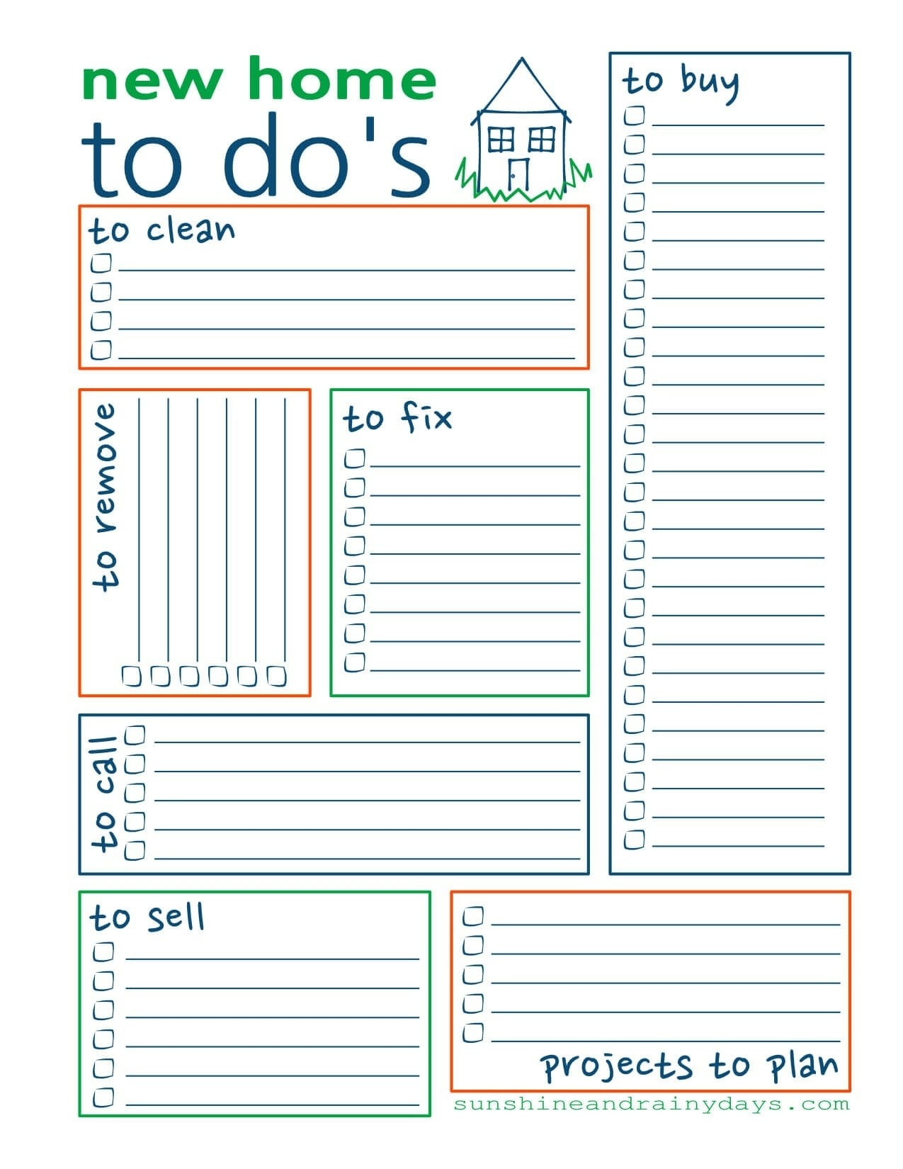 Free Printable To Do List For Home | World Of Example in Free Printable To Do List For Home 25483