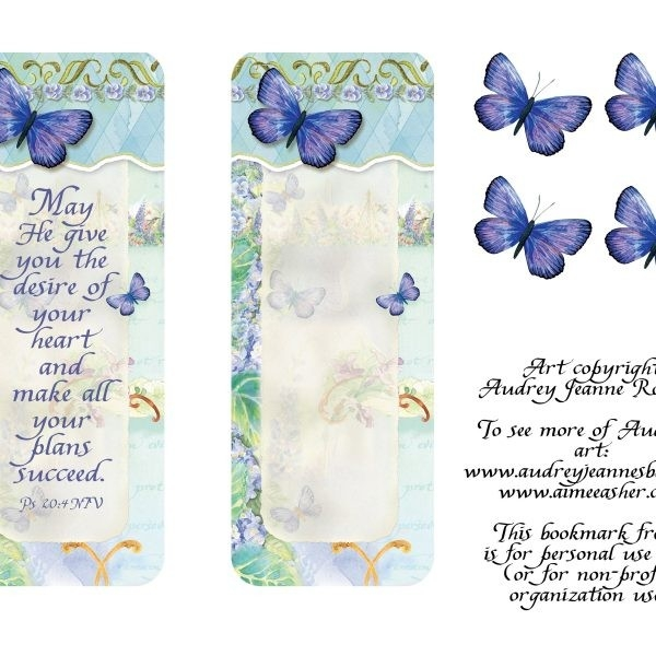 Freebie | Audrey Jeanne's Expressions Within Bookmark Background regarding Bookmark Background Designs About God 27180