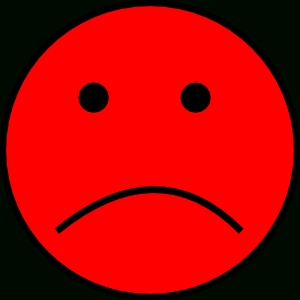 Frowny Face Clip Art At Clker - Vector Clip Art Online in Sad Smiley Faces Clip Art 30690