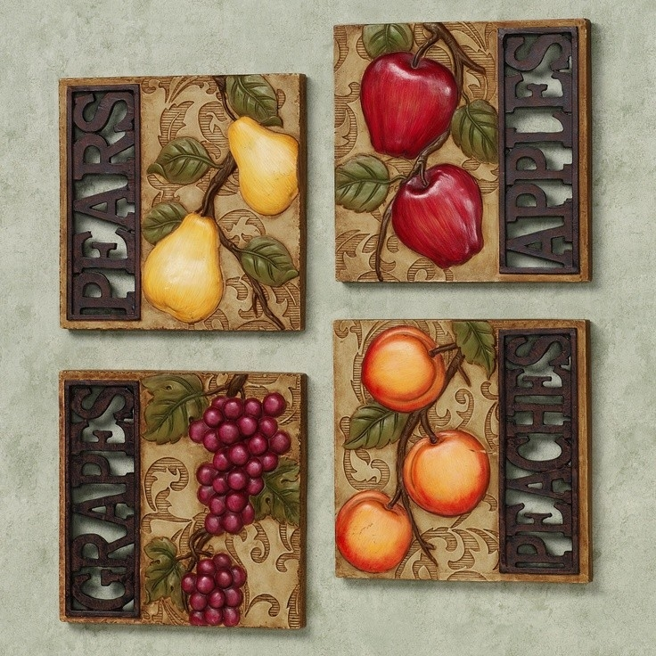 Fruit Wall Art Com Modern Regarding 17 | Lofihistyle Canvas intended for Fruits Kitchen Wall Art 27099