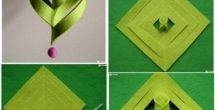 Handmade Paper Crafts Ideas Step By Step