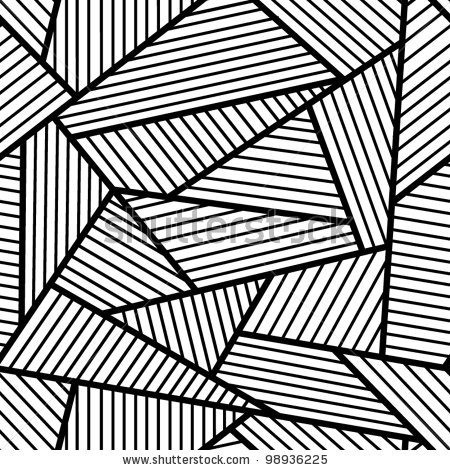 Gallery For > Simple Black And White Abstract | Pattern Inside in Simple Black And White Line Patterns 28053