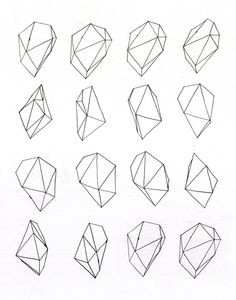 Geometric Drawing - Google Zoeken | Creativeness | Pinterest within Geometric Shape Art Tumblr 24848