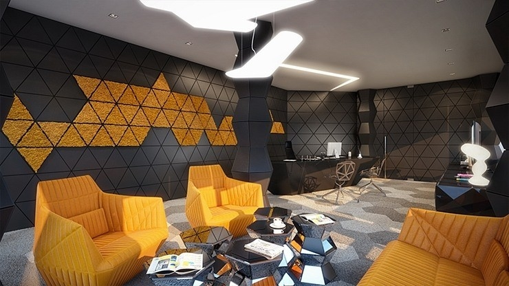 Geometric Form In Interior Design | World Of Example within Geometric Form In Interior Design 25200