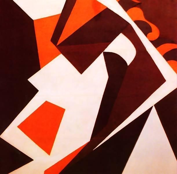Geometric Forms, 1914 - Jean Arp - Wikiart regarding Geometric Form Art 24733