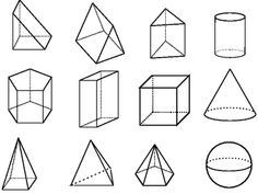 Geometric Shape Clip Art (61+) Intended For 3D Geometric Shapes intended for Geometric Shape 3D 24879