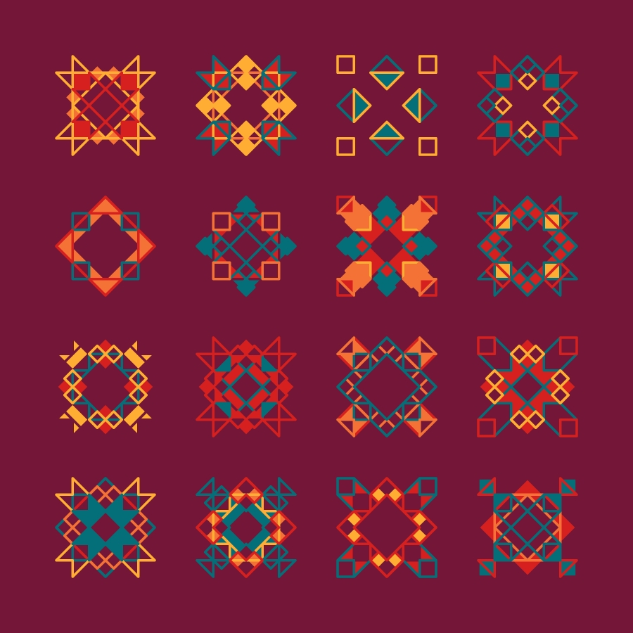 Geometric Shapes / 160716 Hexels Processing Hype Framework regarding Geometric Shape Art Tumblr 24848