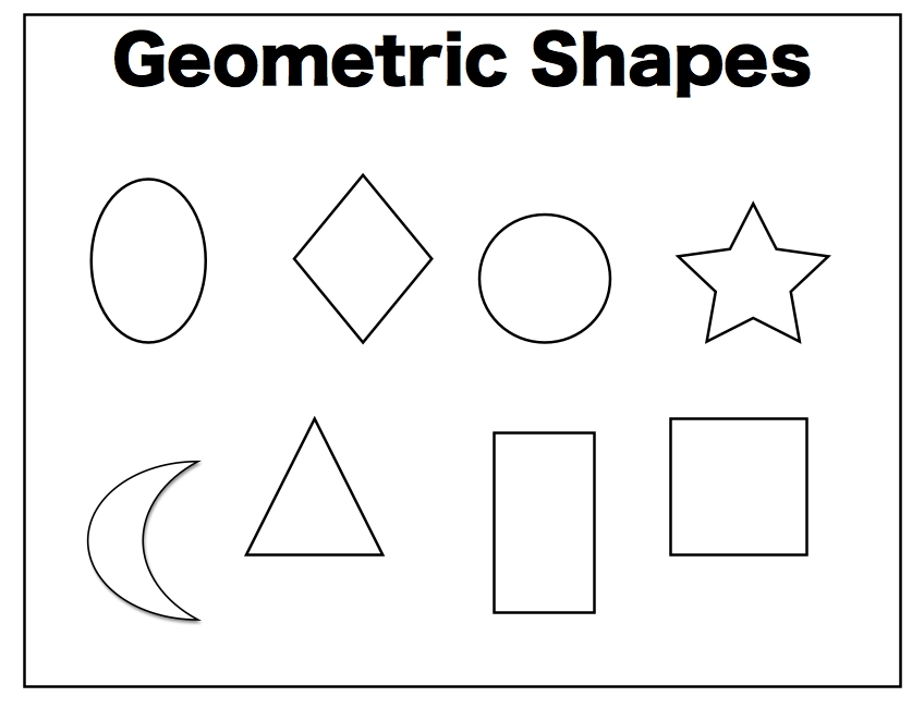 Geometric Shapes Vs. Organic Shapes - Lessons - Tes Teach with regard to Organic Shapes Examples 25763