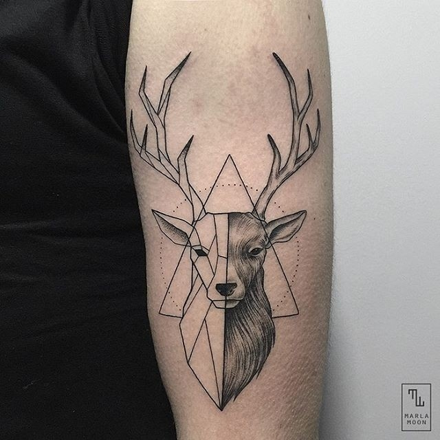 Gerelateerde Afbeelding | Tattoo | Pinterest | Tattoo, Animal intended for Geometric Shape Animal Tattoo 25633
