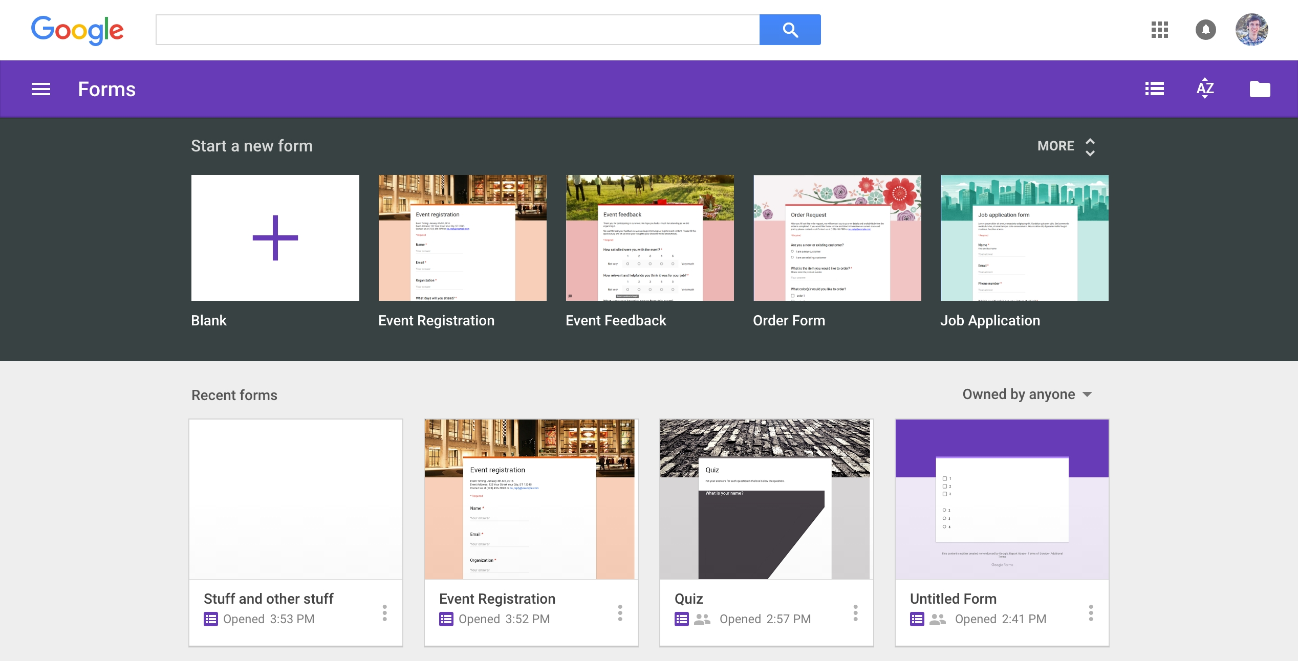 Google Forms Guide: Everything You Need To Make Great Forms For pertaining to Google Forms Templates 25150