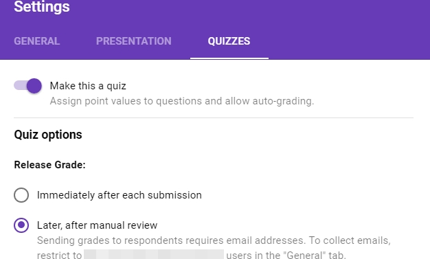 Google Forms Quiz: A Much Needed Feature For Teachers - Eductechalogy in Google Forms Quiz 24703